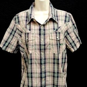 Shirt by Oakley Regular Fit Size Medium Button